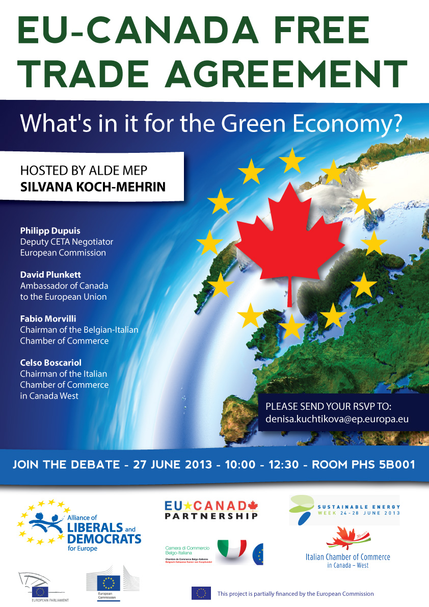 Eu Canada Free Trade Agreement Whats In It For The Green Economy